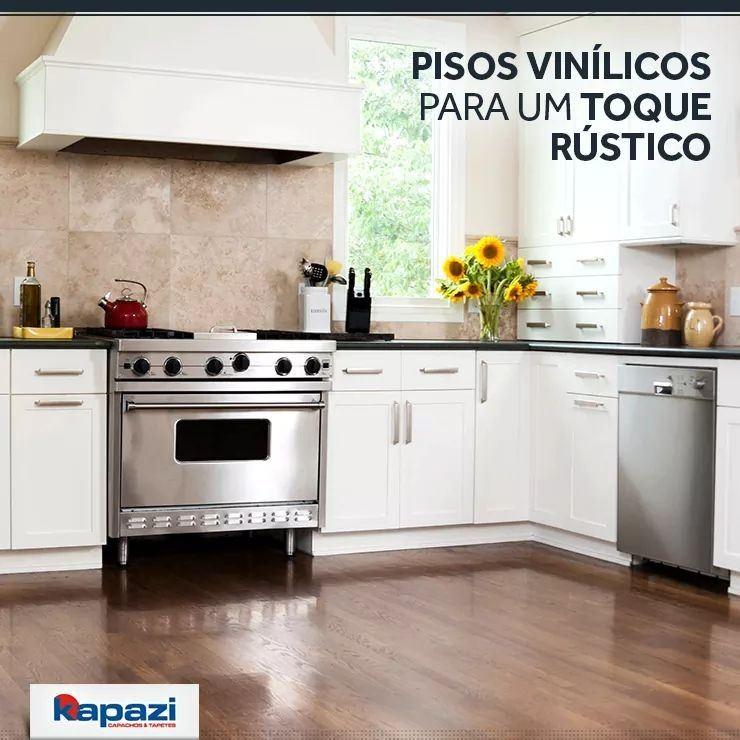 A Cia dos Tapetes - Kapazi Oferece variedade com qualidade. Os pisos vinílicos são resistente, fáceis de limpar e estão disponíveis em diversas texturas.