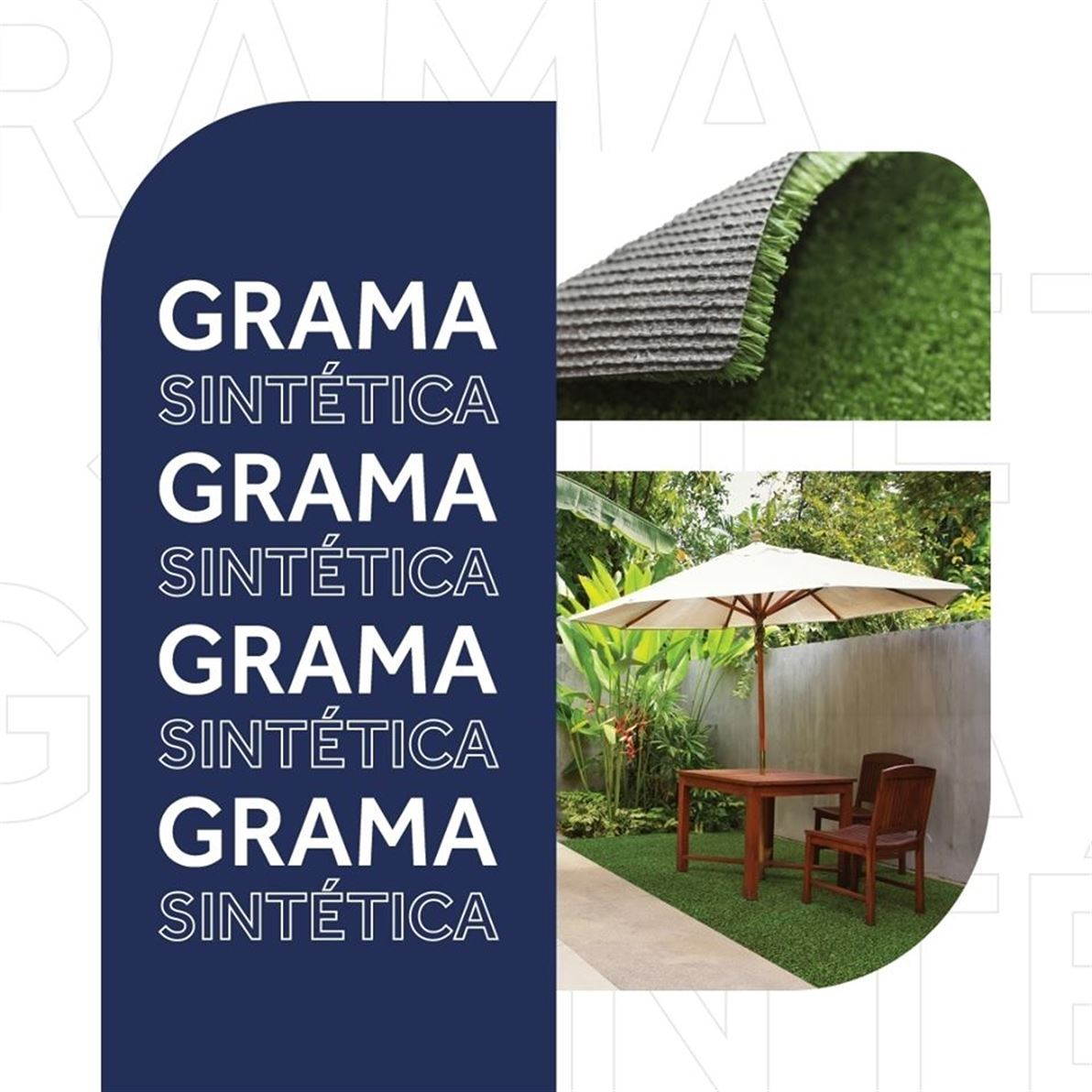 A grama sintética é muito utilizada para embelezar o jardim e as áreas de lazer. ?? Por ser uma opção mais prática e versátil, ela pode substituir gramados em vários espaços, podendo ser internos ou externos.