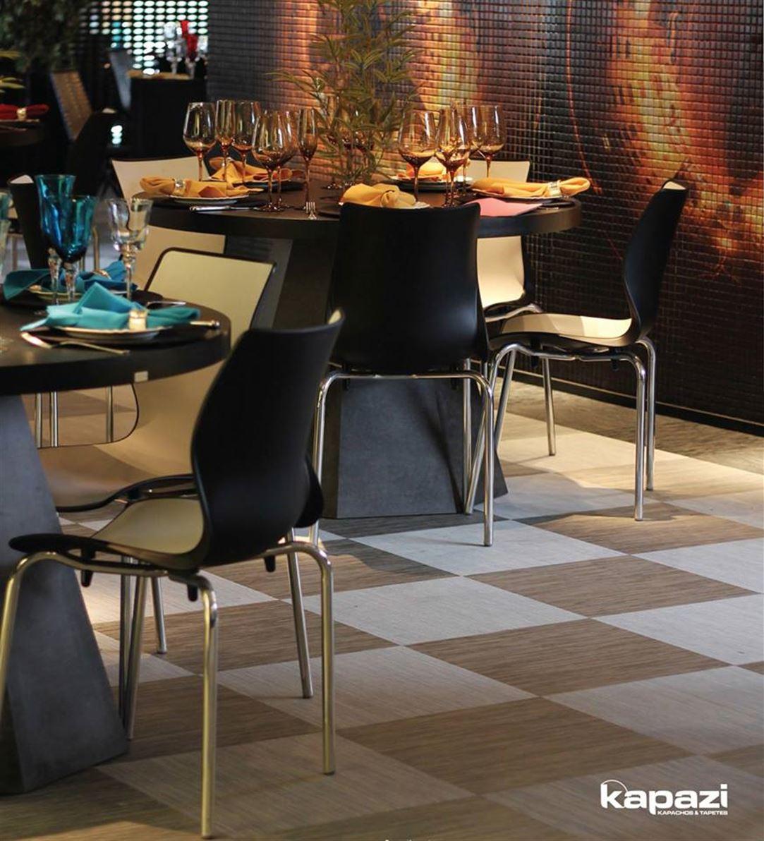 Piso Mix And Match São pisos que dão a cada espaço um significado. A luz, os tons e as formas incidem sobre as mais diferentes superfícies e estampas criando efeitos visuais que agregam valor e estilo ao produto