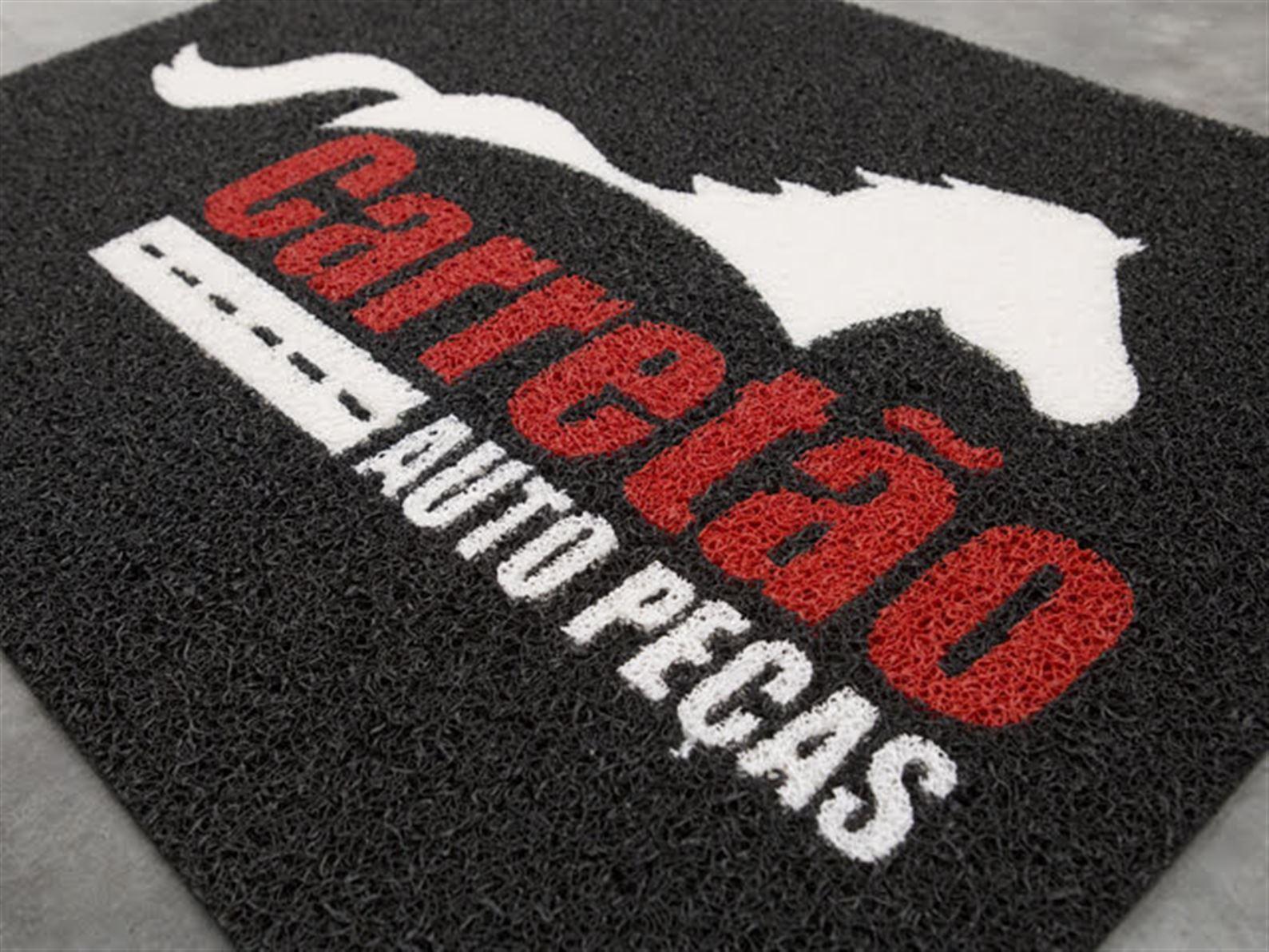 Tapete Personalizados Vulcanizados - Ideal para limpeza dos pés e absorvição de poeiras