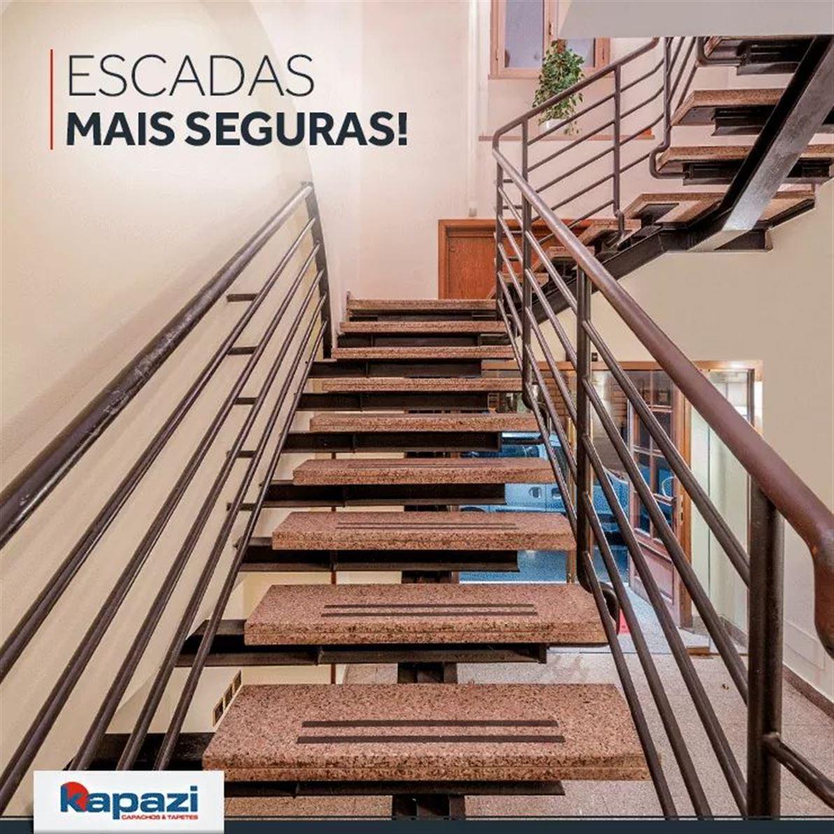 Fita Antiderrapante Adesiva - Ideal para uso em escadas e pisos escorregadios