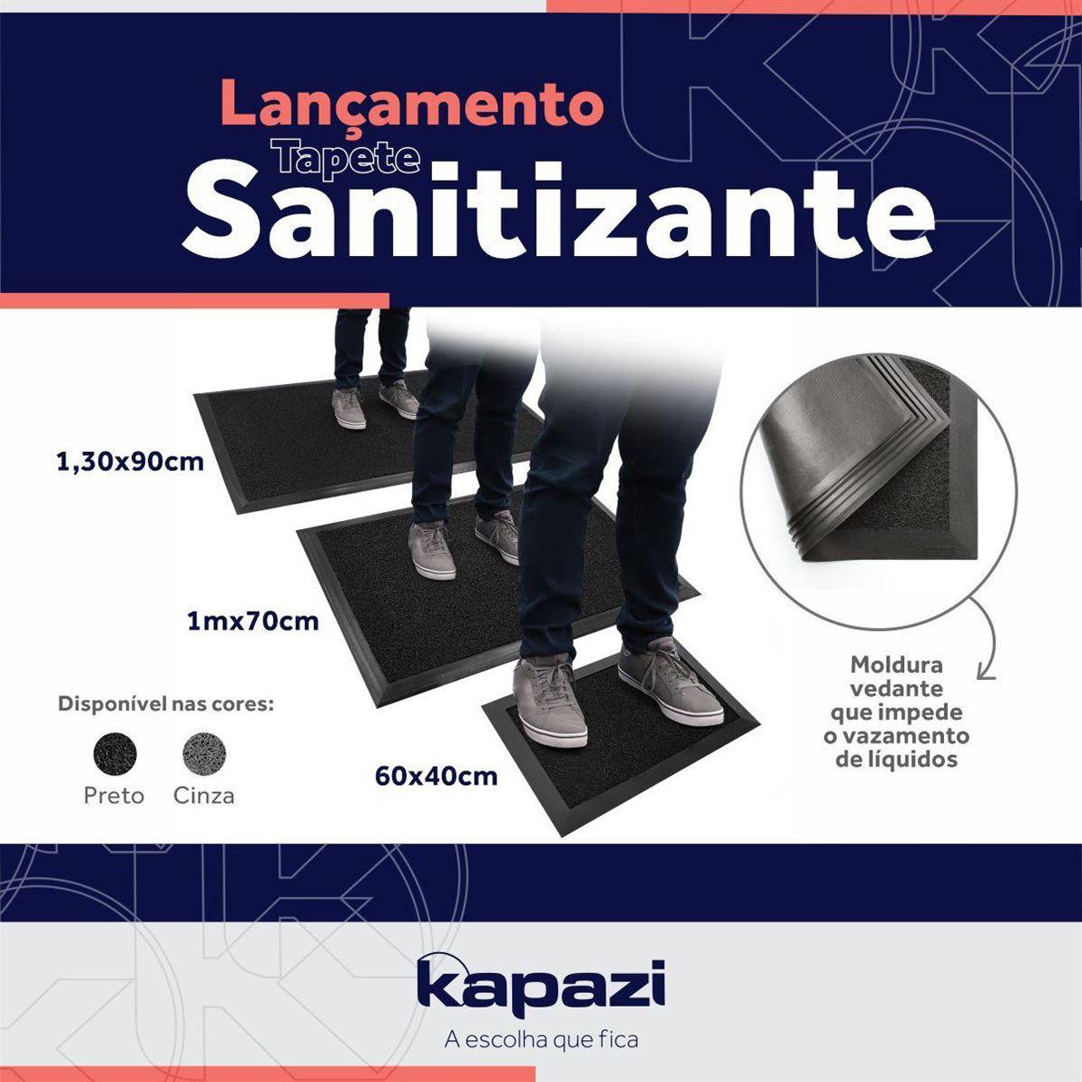 Tapete Sanitizante, ideal para o uso comercial e residencial