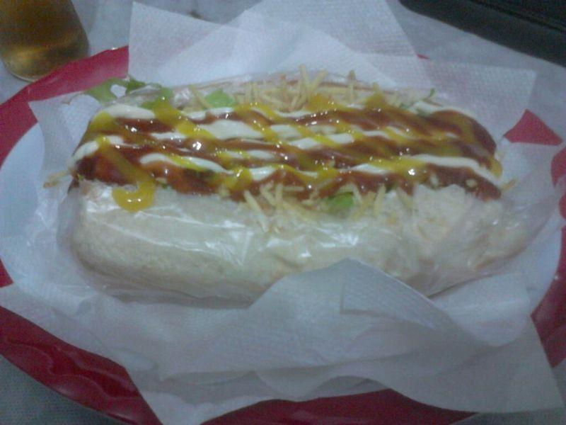 Hot Dog da G&G Lanchonete