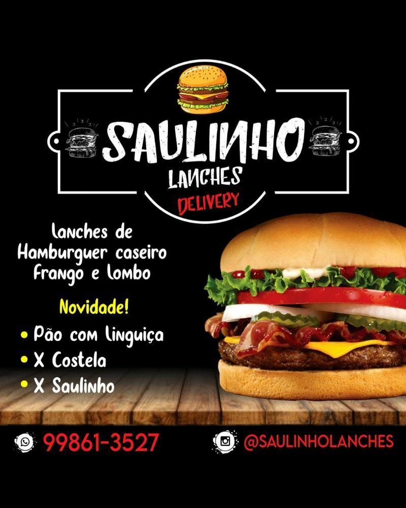 Saulinho Lanches - Hambúrguer Artesanal