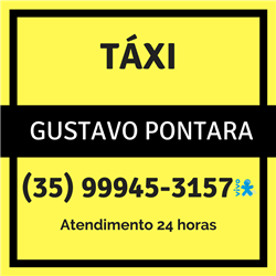 Disk Táxi do Gustavo Pontara - Táxi, Corridas e Viagens